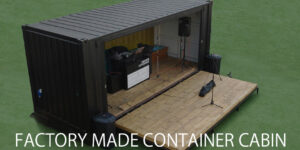 Factory made container